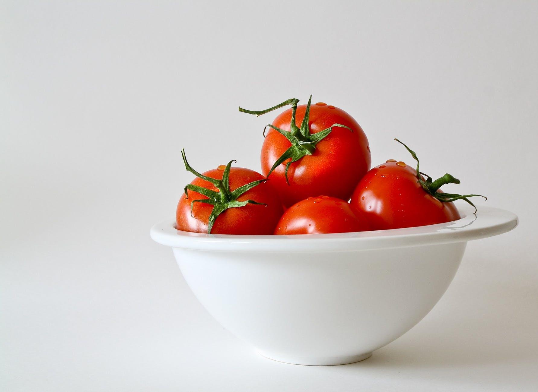 food vegetables red tomatoes