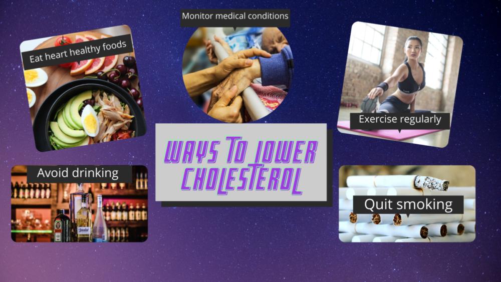 lower cholesterol levels