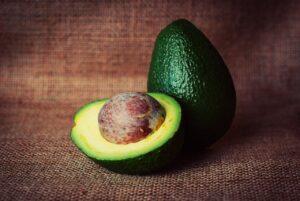 avocado, vegetable, cut