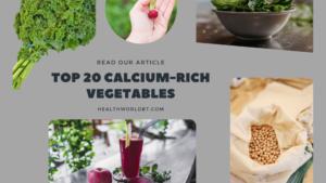calcium-rich vegetables